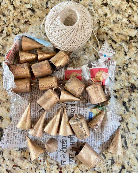 Vintage handmade bells! Great for decorating for Christmas 🎄 #LTKhome #LTKstyletip #liketkit http://liketk.it/31Kpu @liketoknow.it.home @liketoknow.it