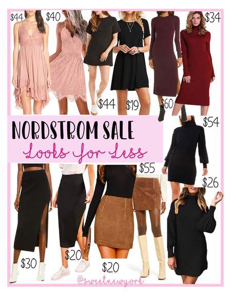 Rounding up some Nordstrom #NSALE skirts and dresses and amazon looks for less   #LTKsalealert #LTKstyletip #LTKunder100