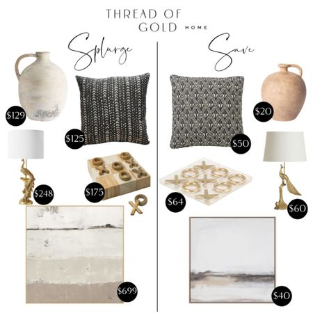 Back by popular demand, another Splurge vs. Save! This time I'm sharing some home accessories!  Shop them all on the @liketoknow.it app (link in bio)!  http://liketk.it/3iCIf    #liketkit #LTKunder50 #LTKhome