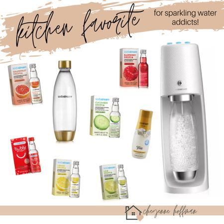 ✨ calling all sparkling water lovers! I am obsessed with Spindrift/Bubly, etc and we got this Sodastream for Christmas & I'll never have to buy sparkling water again! This is so easy to use and creates the tastiest drinks! We even made our own tonic water for a delish G+T! 🥂   http://liketk.it/34TTT #liketkit @liketoknow.it #LTKhome #LTKNewYear #LTKunder100