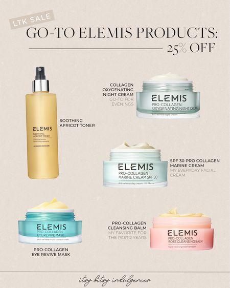 Go-to Elemis products 25% off with ltk code :/   #LTKsalealert #LTKbeauty