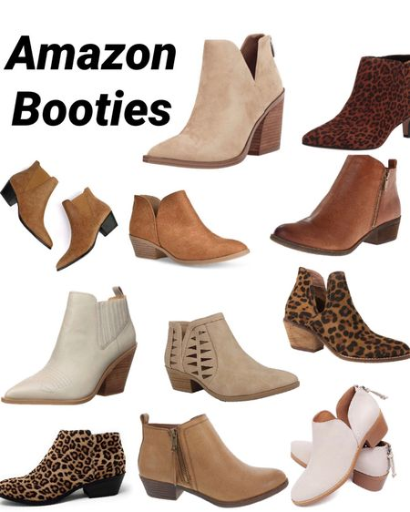 Amazon booties ✨ amazon prime ✨ amazon fashion ✨ footwear ✨ boots ✨ ankle boots ✨ fall shoes ✨ fall outfits Shop my daily looks by following me on the LIKEtoKNOW.it shopping app http://liketk.it/2Yuim #liketkit @liketoknow.it #LTKshoecrush #LTKunder50 #LTKstyletip #ltkworkwear