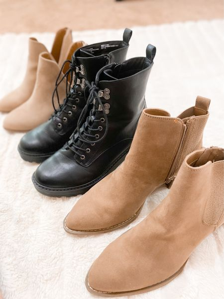 Some cute fall boot options! All fit true to size and come in more colors🙌 #targetstyle #kohls #booties #boots #fallfashion #fallshoes   #LTKshoecrush #LTKunder50 #LTKstyletip