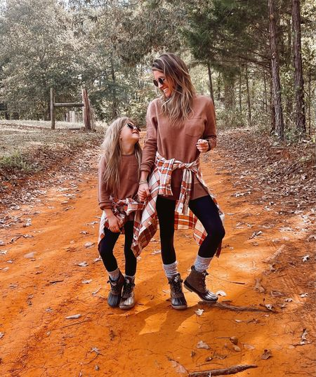 We were not ready for this weekend to end! We had so much fun soaking up the outdoors and the weather was great!  //  Curious, have any of you started or perhaps even finished your Christmas shopping? I put a pretty big dent in mine today!🎁 // Hope everyone had a wonderful weekend! Our matching outfits are linked in my IG bio.👯♀️ Items are 20% off with code FALL20 + FREE duck boots if you spend over $100.🙌🏼   #LTKfamily #LTKHoliday #LTKkids