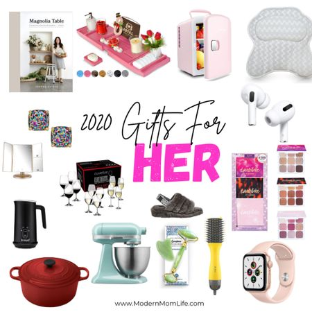 Don't forget about the best gifts for her! While researching I wanted to buy them all but I refrained. I've got my favorites here but more over at ModernMomLife.com http://liketk.it/32ugr #liketkit @liketoknow.it #LTKgiftspo #LTKshoecrush #LTKbeauty