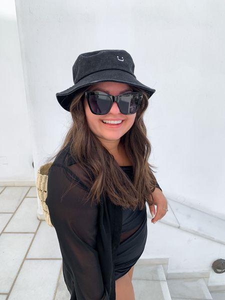Bucket hat. Greece Mykonos   #LTKtravel #LTKSeasonal #LTKunder50