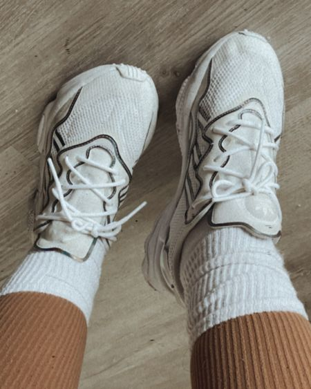 Fave sneakers for the past few months! Also loving 90s style atm so that includes slouchy socks. http://liketk.it/36Vki #liketkit @liketoknow.it #LTKfit #LTKshoecrush #LTKstyletip