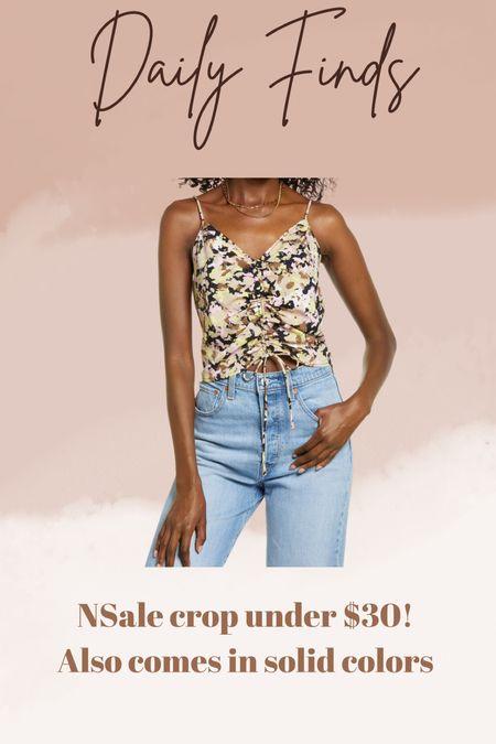Nordstrom anniversary sale Crop top    #LTKsalealert #LTKunder50 #LTKstyletip