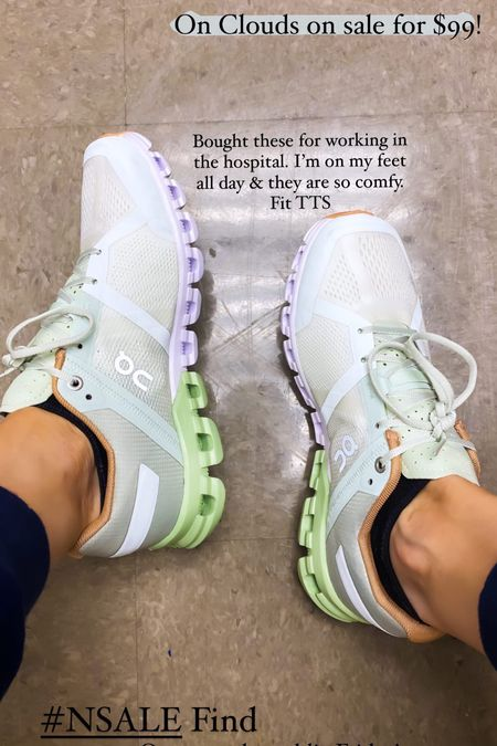 NSALE Sneakers TTS   #LTKstyletip #LTKsalealert #LTKshoecrush