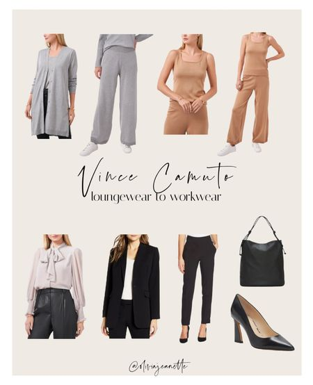 From lounging at home to heading to the office Vince Camuto has all the pieces you need! 🍂  Available at Nordstrom.   #LTKunder50 #LTKworkwear #LTKunder100