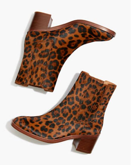 These autumn leopard boots are so great! http://liketk.it/2ZEu0 #liketkit @liketoknow.it #LTKshoecrush