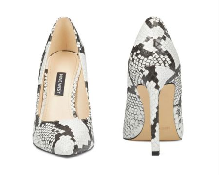 Snakeprint heels are so necessary for fall outfits. http://liketk.it/2ZrFE #liketkit @liketoknow.it #LTKstyletip #LTKshoecrush #LTKunder100