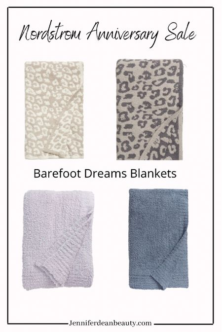 Some of my favorite Barefoot Dreams Blankets are part of the Nordstrom Anniversary Sale. I have several of these and use them constantly.   #LTKhome #LTKunder100