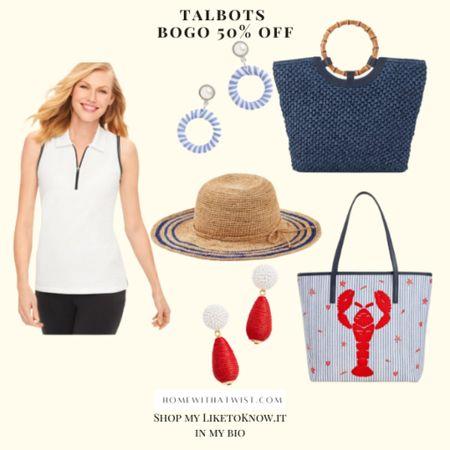 Buy one get one 5% off at Talbots! #LTKsalealert #LTKfamily #LTKworkwear http://liketk.it/3hcGX #liketkit @liketoknow.it