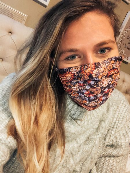 BIG sales happening at Anthropologie and this face mask was no exception!  Who would've thought this time last year that a mask would make a good gift?!🤦♀️😂 This and plenty other accessories like headbands, scrunchies, and face masks are perfect for last minute gifts!   http://liketk.it/34pk5 #liketkit @liketoknow.it #LTKunder50 #LTKgiftspo #LTKbeauty