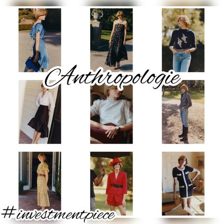 I love this edit (Princess Di vibes) that's a mix of party dresses, tweed separates, fall sweaters, and classic sets! @anthropologie #investmentpiece   #LTKworkwear #LTKSeasonal #LTKstyletip