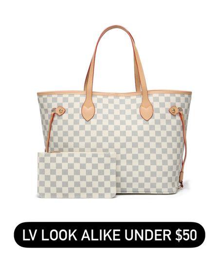 Neverfull on sale for under $50! http://liketk.it/3g7MR @liketoknow.it #liketkit #LTKitbag #LTKsalealert #LTKunder50