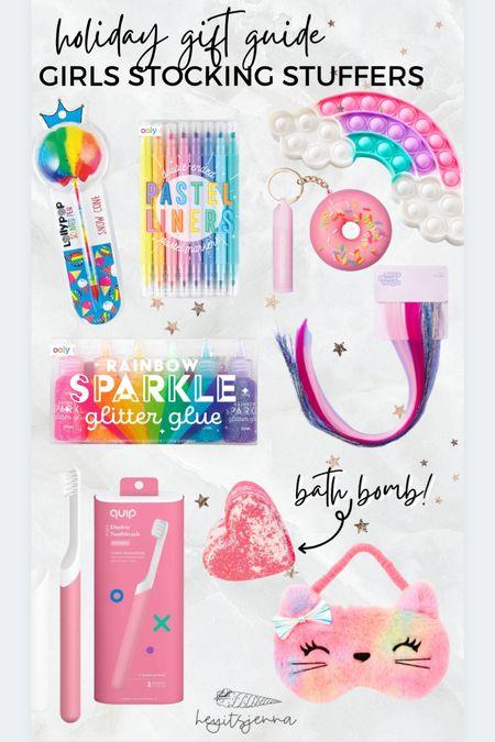 Stocking stuffer ideas for the kids Girl approved Christmas gifts for tween girls  Arts and crafts Pop it fidget toys    #LTKkids #LTKGiftGuide #LTKHoliday