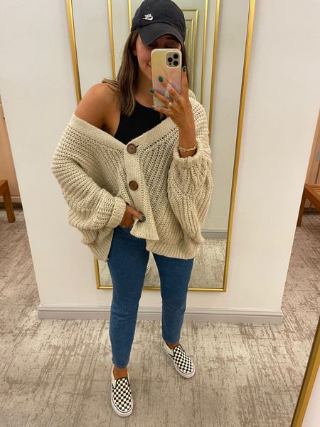 Been wearing this comfy grandpa sweater nonstop this week!   #LTKSeasonal #LTKfit #LTKstyletip