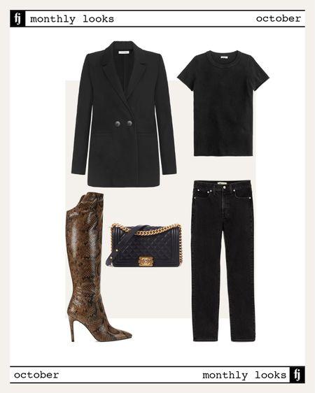October fall outfit idea #falloutfits  #LTKunder50 #LTKstyletip #LTKunder100