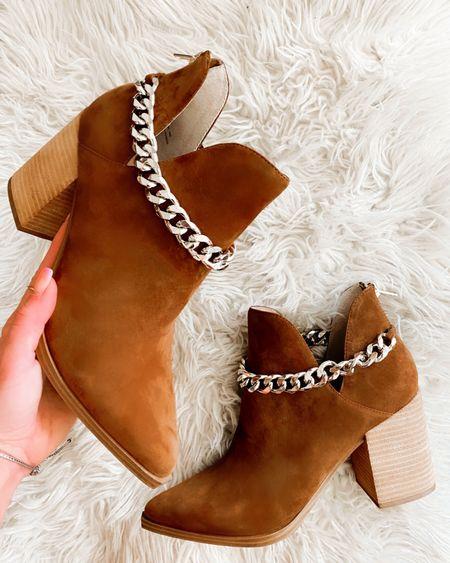 Nordstrom anniversary sale  Steve Madden booties Fall boots   #LTKsalealert #LTKshoecrush #LTKunder100