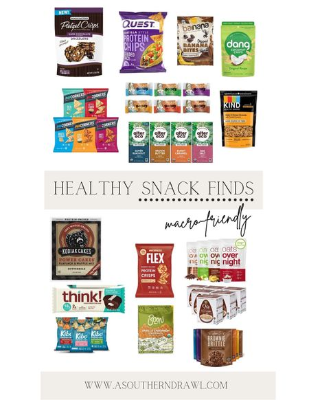 Healthy snack finds from Amazon prime   #LTKfit #LTKfamily