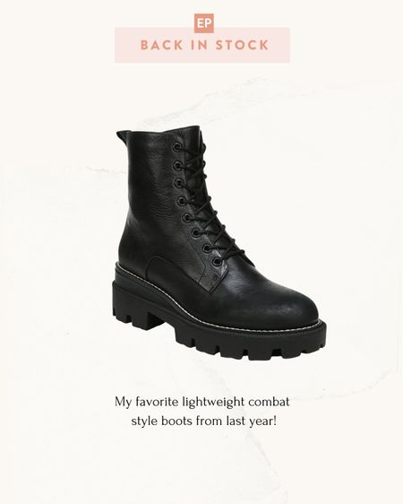 Sale alert: currently on sale at ShopBop - my favorite Sam Edelman combat boots // wore these a lot last year and love how lightweight they are for the look   #LTKSeasonal #LTKsalealert #LTKshoecrush