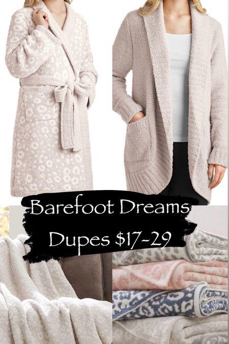 Barefoot dreams dupe Barefoot dreams blanket dupe Barefoot dreams cardigan dupe Barefoot dreams robe dupe  #LTKunder50 #LTKHoliday #LTKGiftGuide