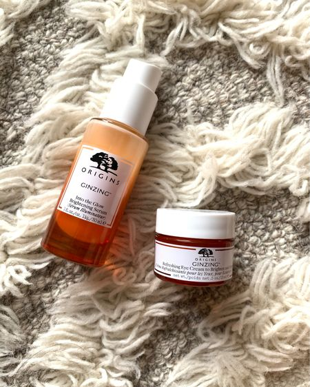 LOVING these products rn. The eye cream is so good. I love how it instantly brightens my eyes. The glow serum is great, too! I've been wearing these two with no makeup and love how it makes my skin look and feel.  Highly recommend these products. I also love the tinted moisturizer.   http://liketk.it/3c881 #liketkit @liketoknow.it