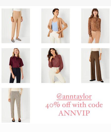 @anntaylor  40% off with code  ANNVIP  Petite   #LTKworkwear #LTKsalealert #LTKunder100