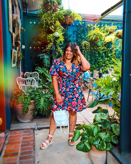 🌸 My first time getting brunch since the quarantine. I'm loving this floral dress paired with my strappy sandals. I missed these fun moments. 💕 http://liketk.it/2PVBL #liketkit @liketoknow.it Shop your screenshot of this pic with the LIKEtoKNOW.it shopping app
