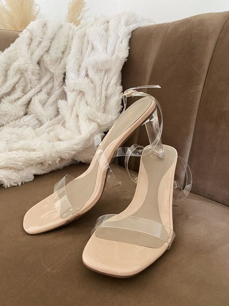 Follower Favorite: Acrylic Strappy Heels  Love these to pair with any and every cocktail to formal dress — Especially wedding guest dresses!   #LTKshoecrush #LTKunder50 #LTKstyletip