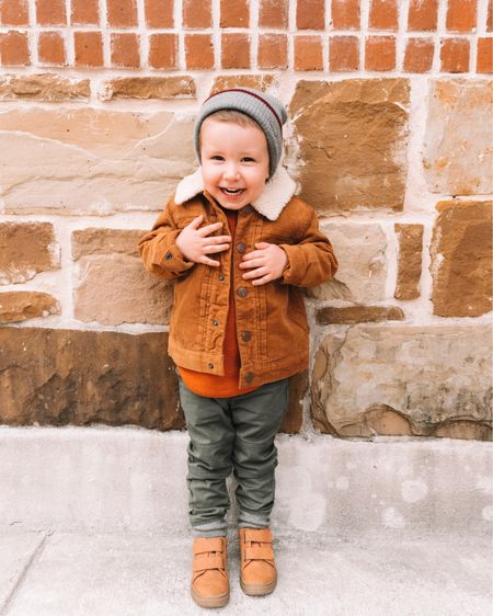 Becoming this boy's mama almost three years ago was everything I didn't know I needed. 🍂🧡 . . .   Get Emerson's fall outfit details by following me on the @liketoknow.it app or clicking the link in my bio. http://liketk.it/2G5LC #liketkit #LTKbaby #LTKfamily #LTKkids