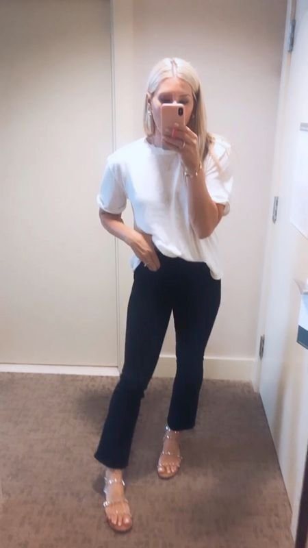 Mother jeans that hug in all the right places. Just the perfect rise on my waist (not to high or low) tts.   #LTKstyletip #LTKsalealert