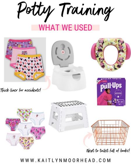 This is what we used to potty train our 2 year old in a week 🚽 these are must-have essentials that worked like a charm for us!! http://liketk.it/2PR83 #liketkit @liketoknow.it #LTKfamily #LTKkids #LTKbaby @liketoknow.it.family
