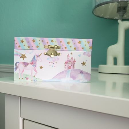 This unicorn jewlery box made the perfect birth gift for my three year old toddler neice. http://liketk.it/3ithh Little girls gift idea @liketoknow.it #liketkit #LTKunder50 #LTKunder100 #LTKhome #LTKfamily #LTKkids @liketoknow.it.family @liketoknow.it.home Download the LIKEtoKNOW.it app to shop this pic via screenshot
