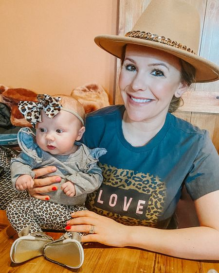Matchy matchy 🐆🐆with my doll baby! This tee is perfect for a casual Valentines Day option and it's like $12! Valentine's Day outfit. Valentine's Day. Leopard print. Baby girl outfits. Baby girl Valentine's Day. Target graphic tee http://liketk.it/37kB9 #liketkit @liketoknow.it   #LTKVDay #LTKbaby #LTKfamily You can instantly shop all of my looks by following me on the LIKEtoKNOW.it shopping app