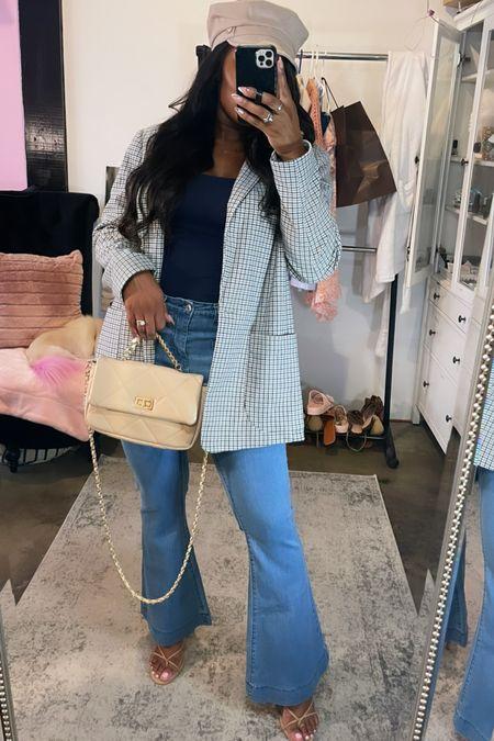 Fall fashion, fall outfit idea, blazer, jeans,  #LTKstyletip #LTKSeasonal