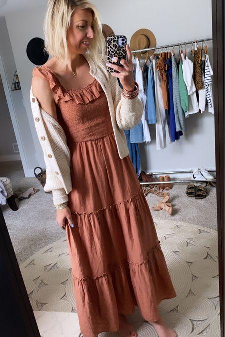 http://liketk.it/3gXmg #liketkit @liketoknow.it  The perfect, easy breezy, summer maxi dress ¥ layering cardigan #LTKunder50 #LTKstyletip #LTKtravel
