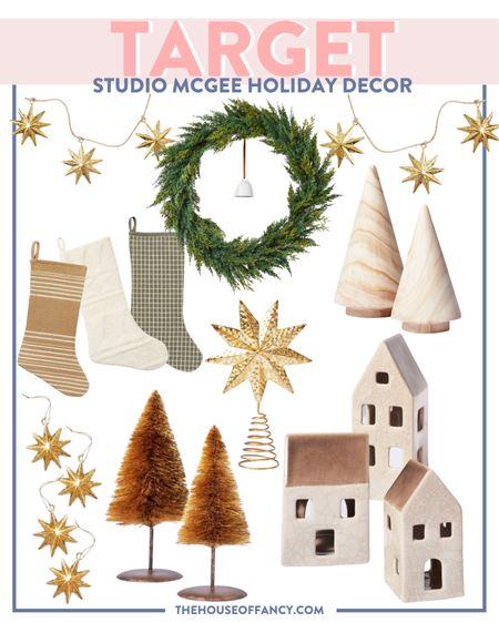 Holiday decor favorites from Studio McGee at Target!   #LTKHoliday #LTKSeasonal #LTKhome