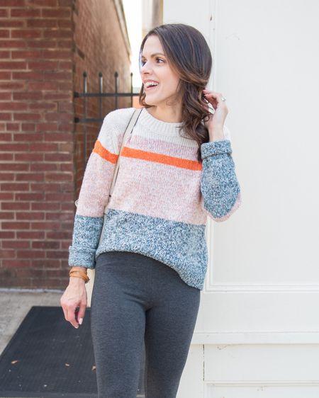 Color block sweaters for Fall! http://liketk.it/2XHvP #liketkit @liketoknow.it #LTKstyletip #LTKunder50 #ltkfall