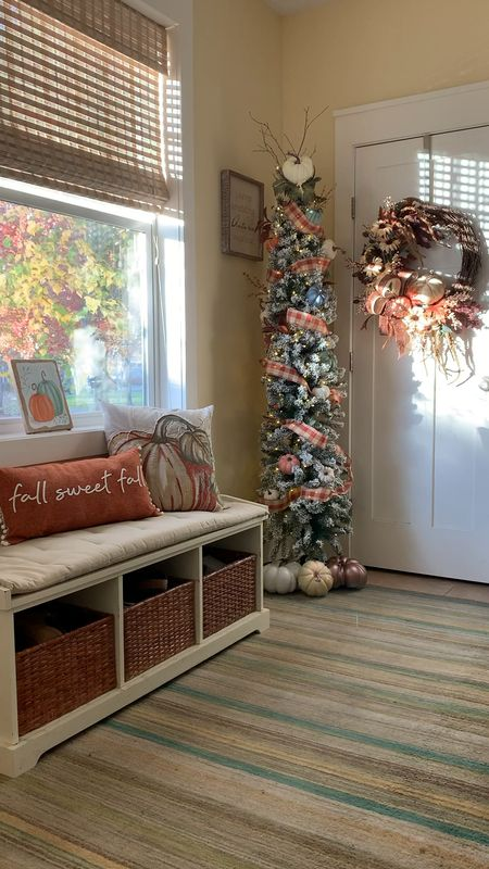 Cozy Fall vibes start in the entryway 🍂🧡🍁  #LTKstyletip #LTKhome #LTKSeasonal