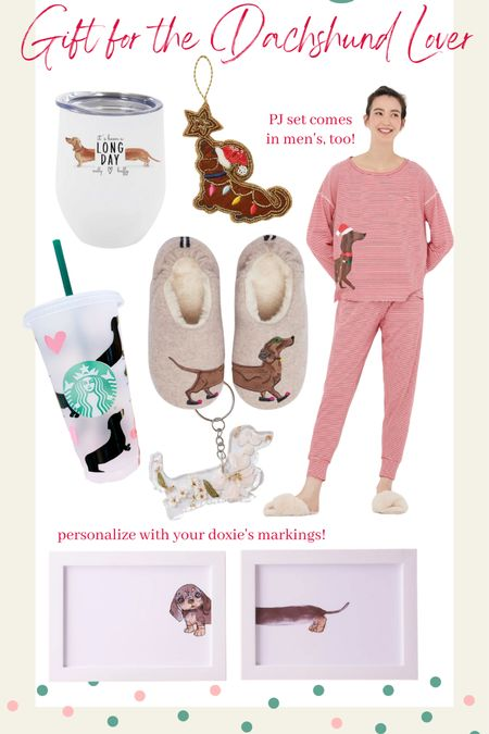 Gift guide for her, Christmas gifts for her, Christmas gift ideas, gift ideas for mom, gift ideas for sister, gift ideas for her, dachshund gifts, dachshund mom, dog mom gifts  #LTKGiftGuide #LTKHoliday #LTKunder100