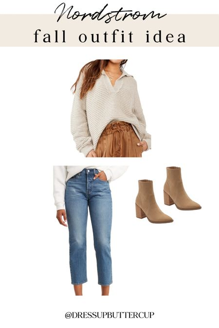 This looks like the coziest sweater ever. Love the oversized collar!  #LTKstyletip #LTKfit #LTKSeasonal