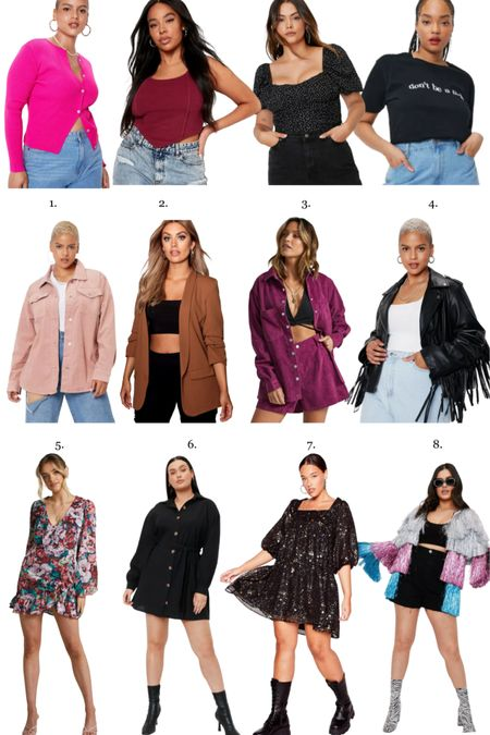 Fall fashion finds from Nasty Gal, Boohoo and Showpo… I love this fringe jacket and am always down for a mini dress! #ltkfall #fallfashion  #LTKstyletip #LTKunder100