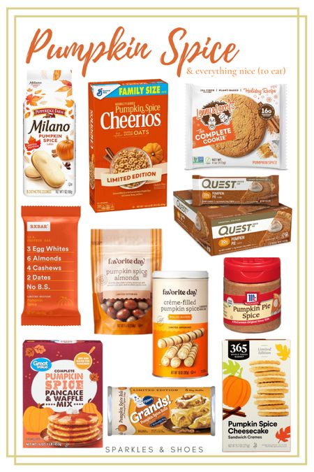 #PumpkinSpice season is officially upon us and here are the top finds from #Amazon #Target and #Walmart to help you taste the season!   #LTKunder50 #LTKSeasonal