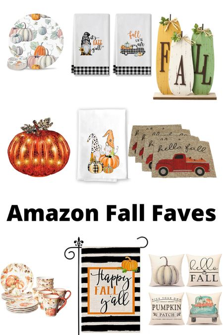 It's almost fall y'all. Amazon has some great fall favorites.  #LTKSeasonal #LTKhome