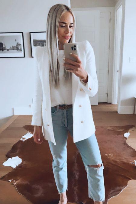 Love an all white outfit! 🤍✨  #LTKbacktoschool #LTKworkwear #LTKSeasonal