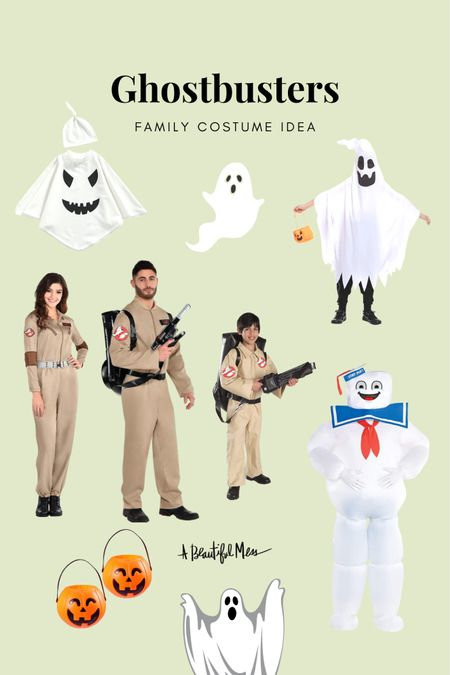 Ghostbusters family costume ideas from Amazon.  #LTKSeasonal #LTKunder50