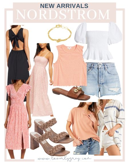 Nordstrom has so many good new arrivals that just dropped for summer! Rounding up a few of my favorites for you.   #LTKSeasonal #LTKunder100 #LTKstyletip